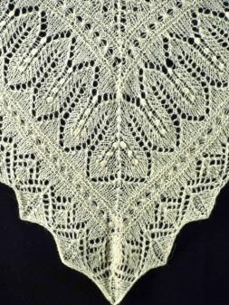 Triangular Haapsalu Lace scarf